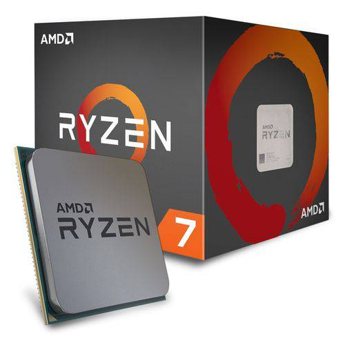 Processador Am4 Ryzen 7 R7 2700X Octa Core 3.7Ghz/20mb AMD