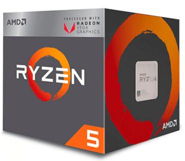 Processador Amd Ryzen 5 2400g Cache 6mb 3.6ghz - InfoParts