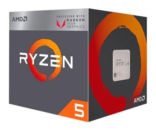 Processador Amd Ryzen 5 2400g Quatro Núcleos Cache 6mb 3.6ghz