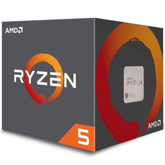 Processador Amd Ryzen 5 2600 C/ Wraith Stealth Cooler 19mb