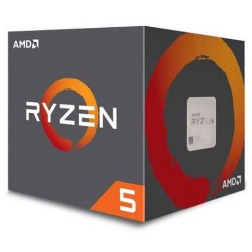 Processador AMD Ryzen 5 2600X, Cooler Wraith Spire, Cache 19MB, 3.6GHz (4.25GHz Max Turbo), AM4 - YD260XBCAFBOX