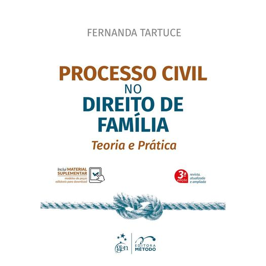 Processo Civil no Direito de Familia - Metodo