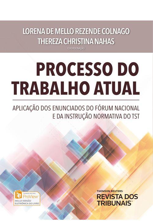Processo do Trabalho Atual - 1ª Edição