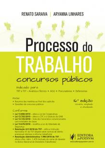 Processo do Trabalho para Concursos Públicos (2019)