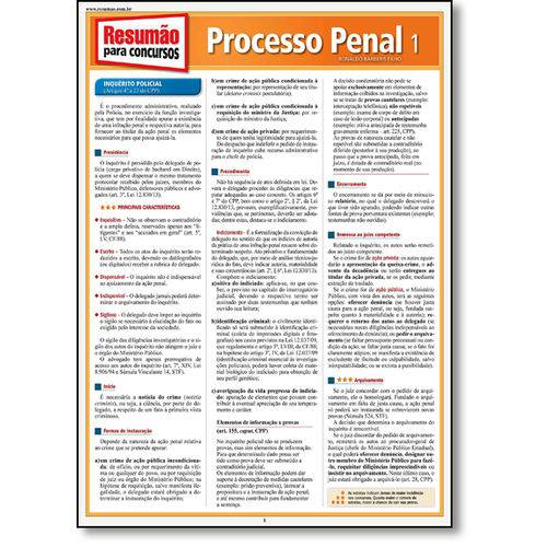 Processo Penal - Vol.1