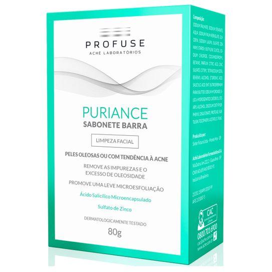 Profuse Puriance Sabonete Barra Pele Oleosa ou com Tendência à Acne 80g