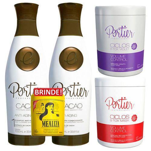 Progressiva Cacao + Btox Ciclos + Btox Violet - Portier Fine