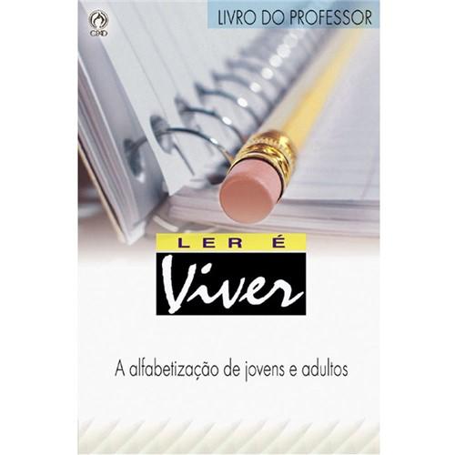 Projeto Ler é Viver - Cartilha do Professor