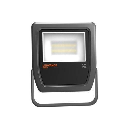 Projetor de Led 30w Bivolt com Luz Amarela Floodlight Preto