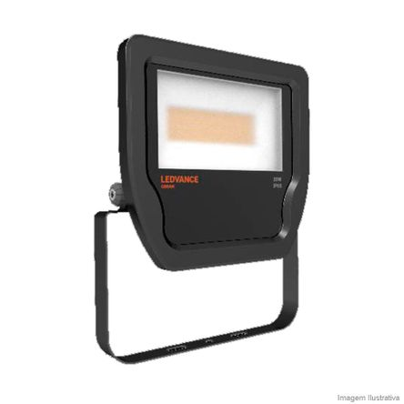 Projetor de LED Ledvance Floodlight 30W/830 Bivolt Osram