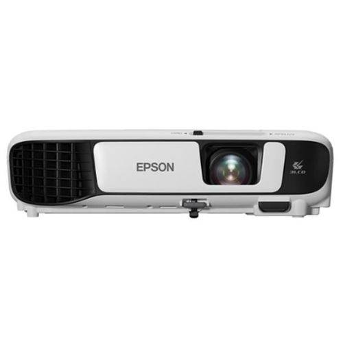Projetor Multimidia Epson Powerlite X41+ 3600 Lumens Xga Wireless - V11h843021