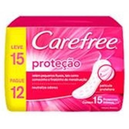 Prot Diario Carefree 15un/pag12 Protecao