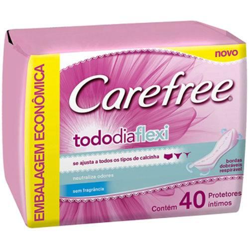 Prot Diario Carefree 40un-cx S/perf Todo Dia Flexi