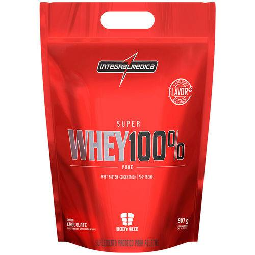 Prot Integral Med Sup Whey 100 907g Choc