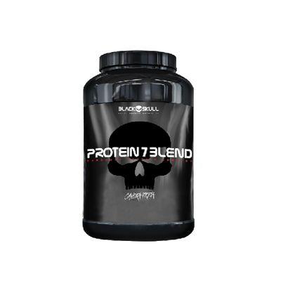 Protein 7 Blend 837g Caveira Preta Black Skull Protein 7 Blend 837g Amendoim Caveira Preta Black Skull