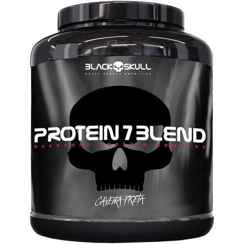 Protein 7 Blend Amendoim 1 8kg - Black Skull