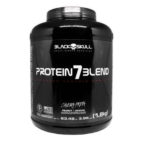 Protein 7 Blend Caveira Preta 1,8kg Amendoim - Black Skull