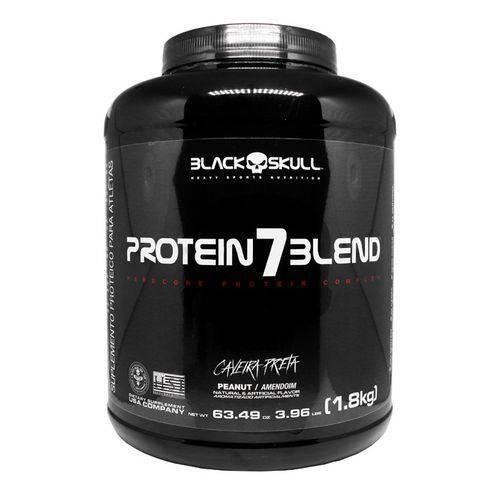 Protein 7 Blend Caveira Preta 1,8kg Caramel - Black Skull