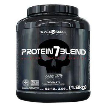 Protein 7 Blend (Caveira Preta) 1,8Kg Pote - Black Skull