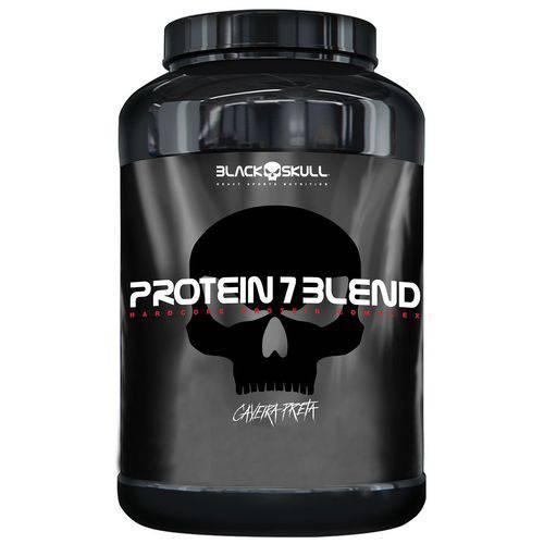 Protein 7 Blend Caveira Preta 837g - Black Skull