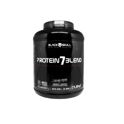 Protein 7 Blend Caveira Preta - Black Skull Protein 7 Blend 1.8kg Amendoim Caveira Preta - Black Skull