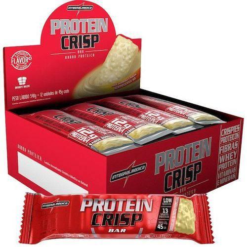Protein Crisp Bar 12 Barras Frutas Vermelhas - Integralmedica