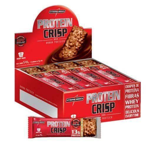 Protein Crisp Bar - 12 Unidades Coco - Integralmédica