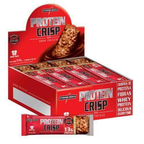 Protein Crisp Bar - 12 Unidades Trufa de Maracujá - Integralmédica