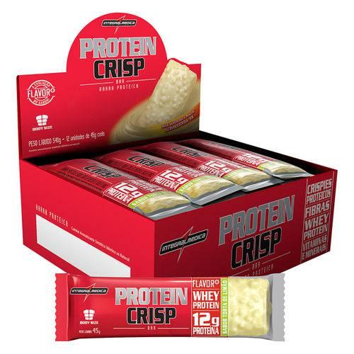 Protein Crisp Bar - 12Unidades - Integralmédica