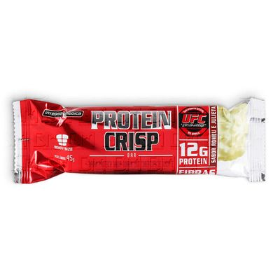 Protein Crisp Bar 45g - Integralmédica Protein Crisp Bar 45g Peanut Butter - Integralmédica