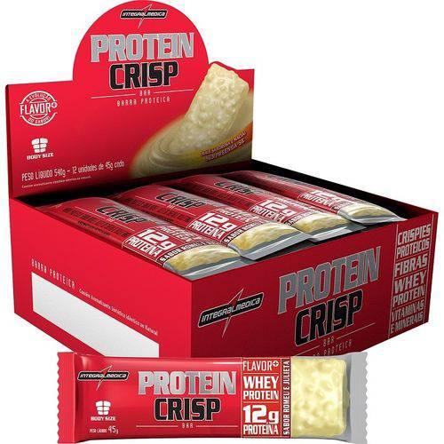 Protein Crisp Caixa com 12 Unidades Sabor Romeu e Julieta
