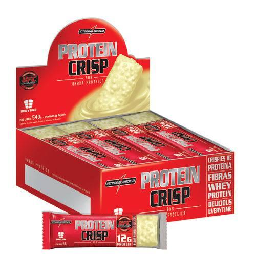 Protein Crisp (cx C/ 12 Uni) - Integralmédica-trufa de Avelã