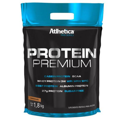 Protein Premium (1,8Kg) Atlhetica Nutrition - Chocolate