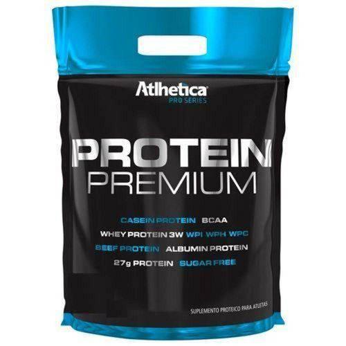 Protein Premium - 850g Cookies Cream Refil - Atlhetica