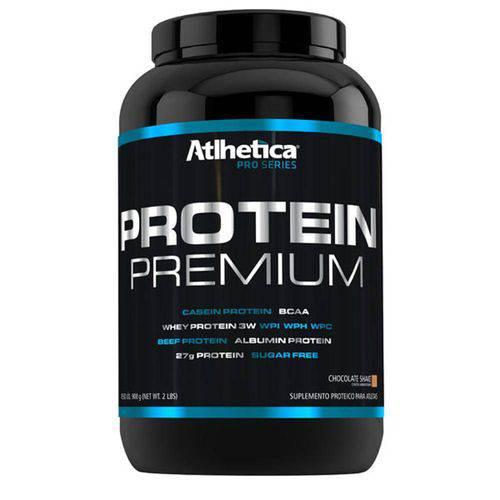 Protein Premium (900g) Atlhetica Nutrition - Chocolate