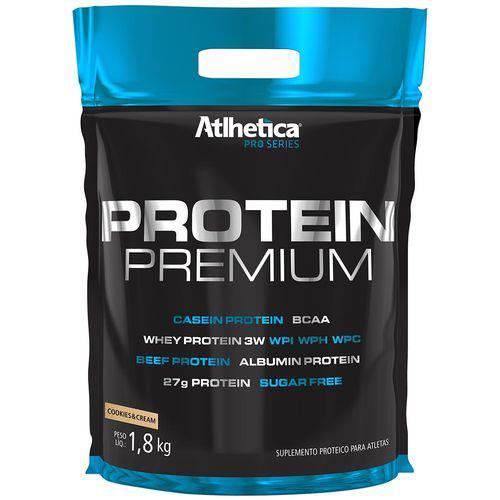Protein Premium Blend de Proteínas - Cookies & Cream - 1,8kg - Atlhetica