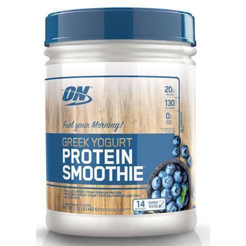 Protein Smoothie Greek Yogurt - 462g Blueberry - Optimum Nutrition