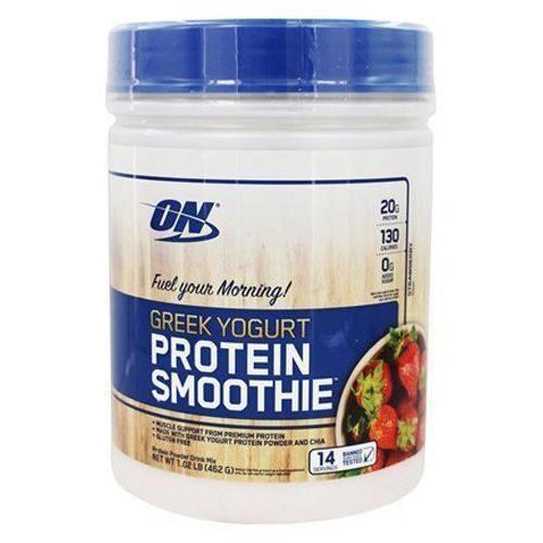 Protein Smoothie Greek Yogurt - 462g Strawberry - Optimum Nutrition