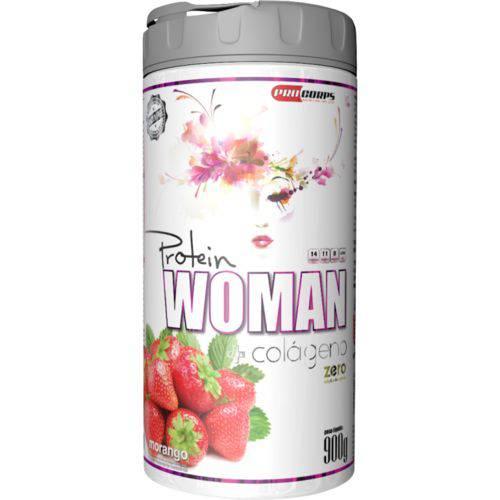 Protein Woman + Colageno (900g) (morango) Procorps