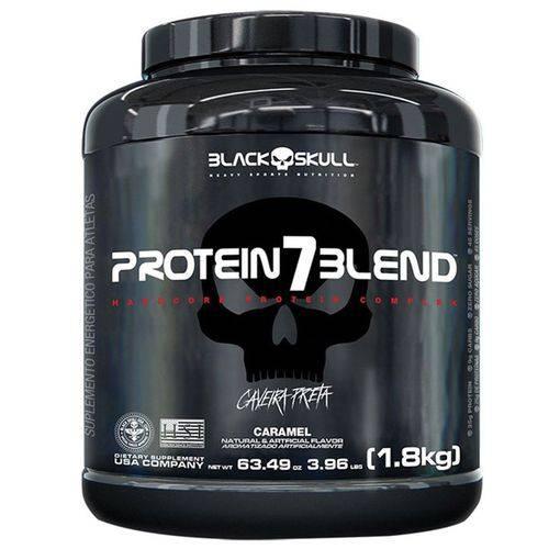 Protein7 Blend Caveira Preta 1800g - Black Skull