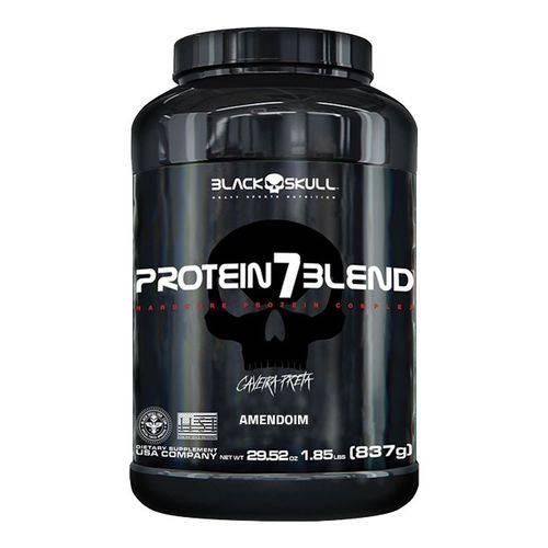 Protein7 Blend Caveira Preta 837g - Black Skull