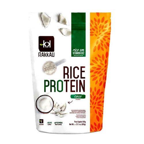 Proteína Concentrada de Arroz Rice Protein Coco - Rakkau - 600g