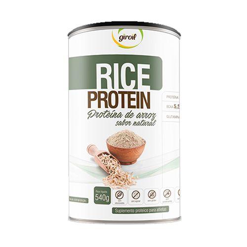 Proteína de Arroz Rice Protein Sabor Natural - Giroil - 540g