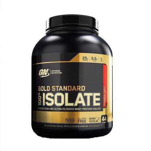 Proteína Whey Gold Isolate 1,32kg 2,91lbs Optimum Nutrition
