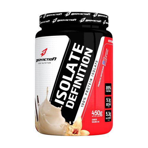 Proteína Whey Protein Isolate Definition 450g Bodyaction