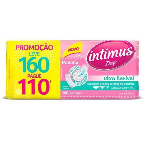 Protetor Diário Intimus Days Ultra Flexível 160 Unidades