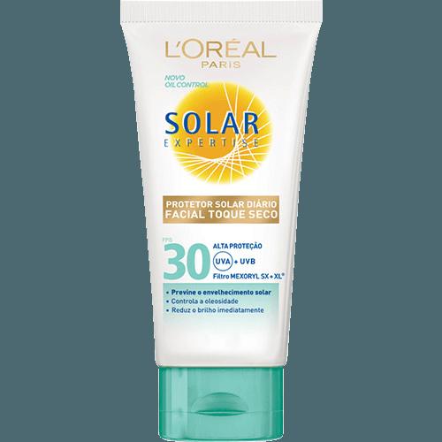 Protetor Facial Solar Expertise Toque Seco FPS 30 - L'Oréal Paris
