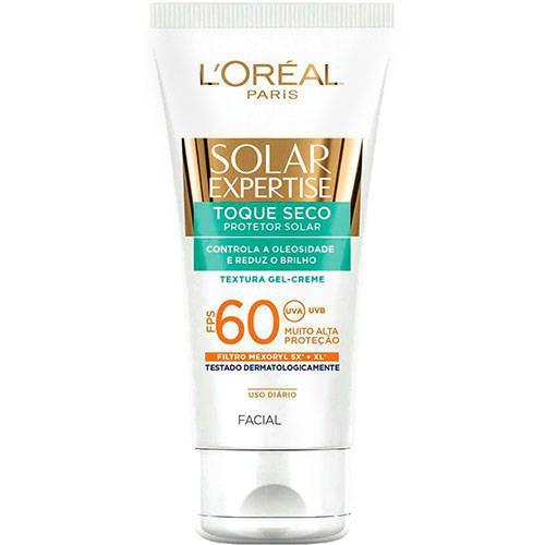 Protetor Facial Solar Expertise Toque Seco FPS 60 - L'Oréal Paris