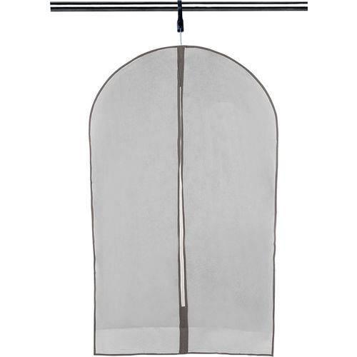 Protetor para Roupa 90x60cm B023 Cinza Basic Kitchen