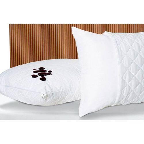 Protetor para Travesseiro Impermeável com Zíper 100% Algodão